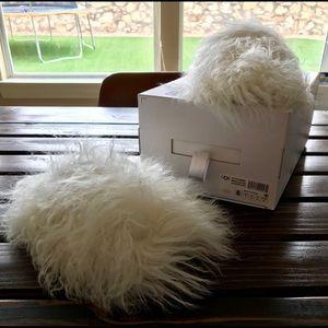 9895834675de UGG Shoes - UGG Women s Fluffy Momma Mongolian Clog Slippers
